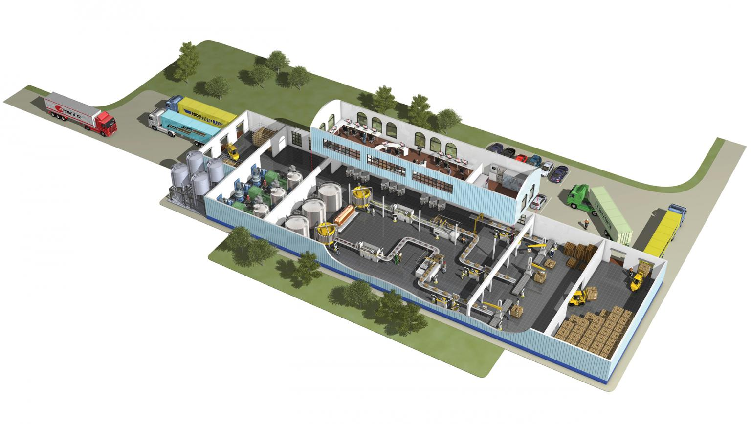 Industry 4.0 is leading to greater communication between machines and decentralised/local processing of data. The result is smart factories, able to manage their own service and maintenance requirements and adapt instantly to new production requirements. Source: Mitsubishi Electric Europe BV