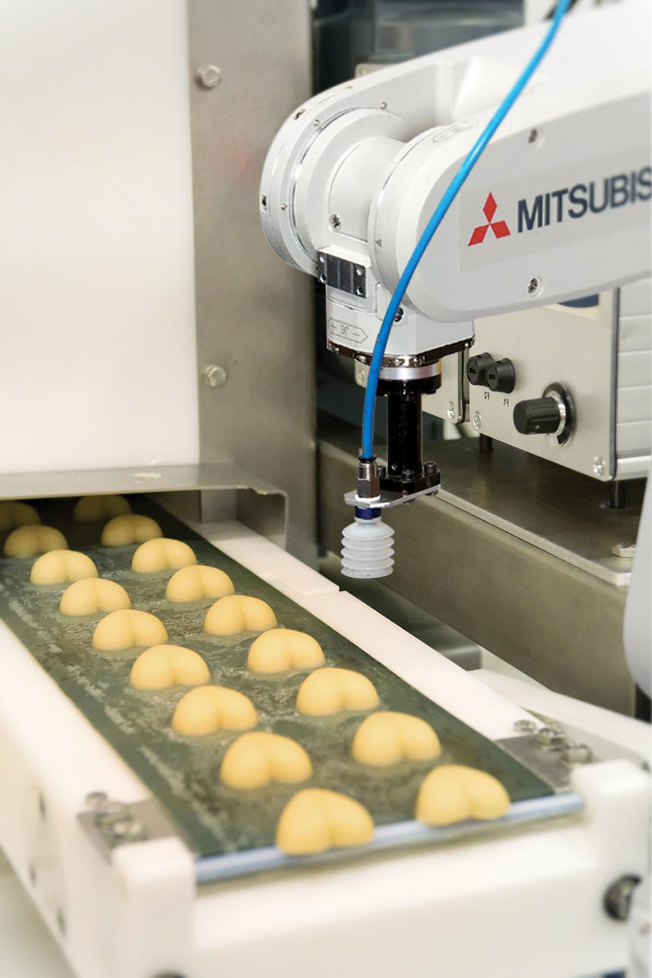 The constant pressure on costs in the food industry means it has a long history of innovating, so is likely to embrace Industry 4.0 quickly and enthusiastically. Source: Mitsubishi Electric Europe BV