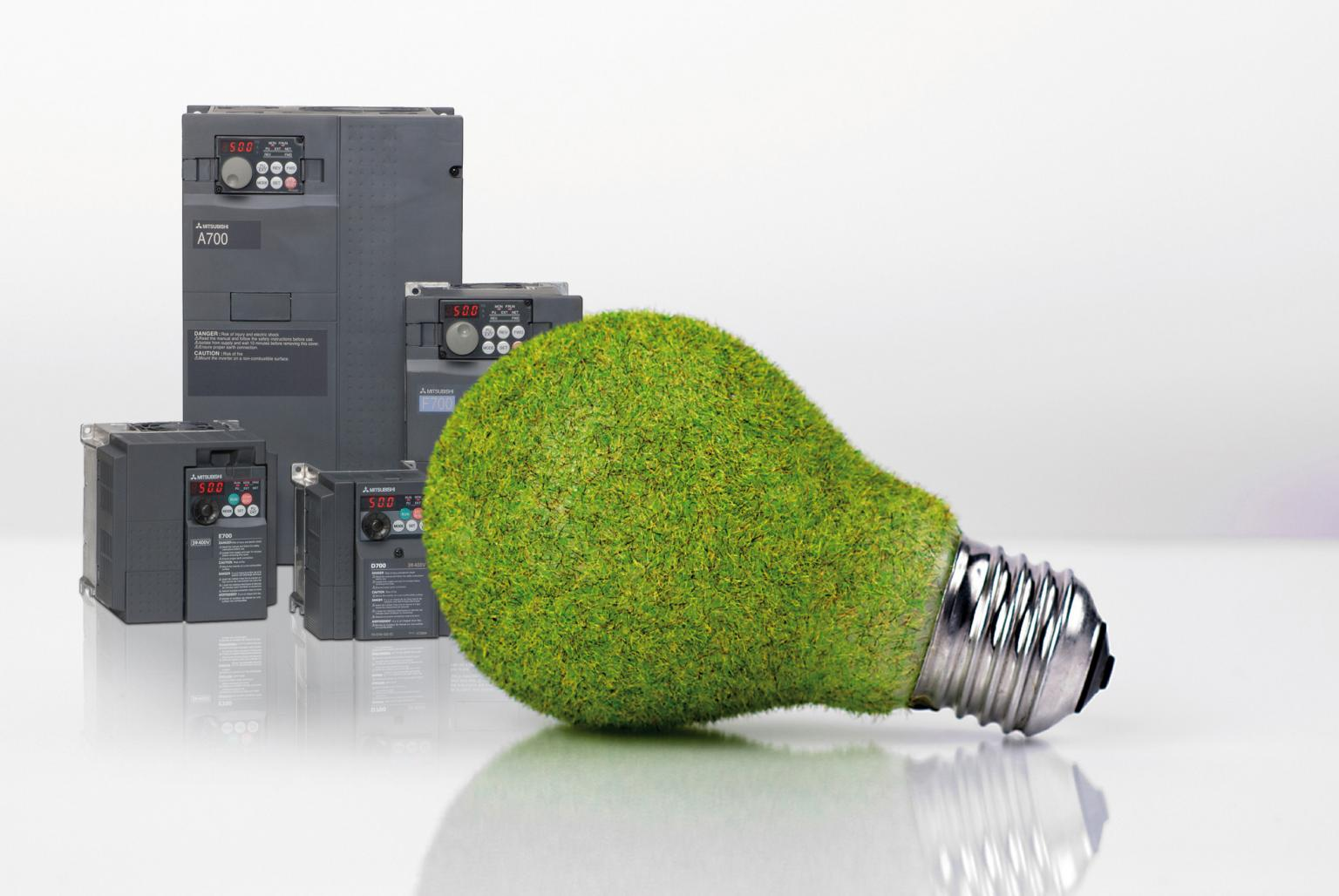 In energy saving applications returns on investment on the purchase of a drive can be as quick as 6-24 months. Source: Mitsubishi Electric Europe BV Automation Systems Division, UK