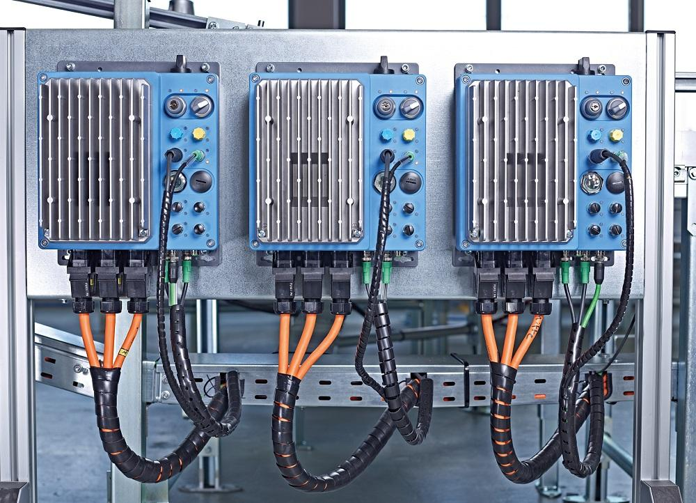 The NORDAC LINK field distributor series includes frequency inverters up to 7.5 kW and motor starters up to 3 kW for flexible installation close to the motor