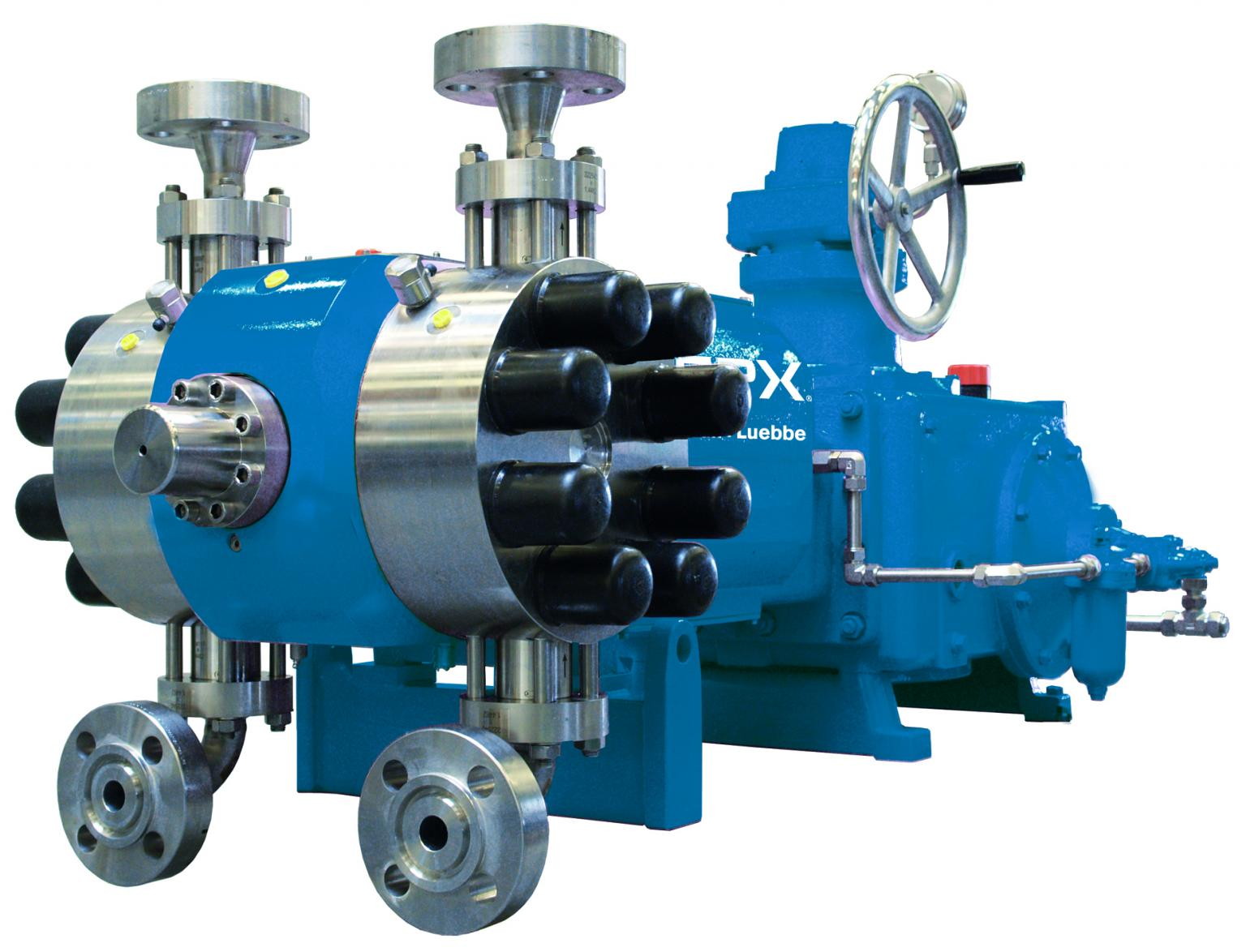 The NOVADOS B pump with a double acting diaphragm pump (NOVADOS B pump with a double acting diaphragm pump head