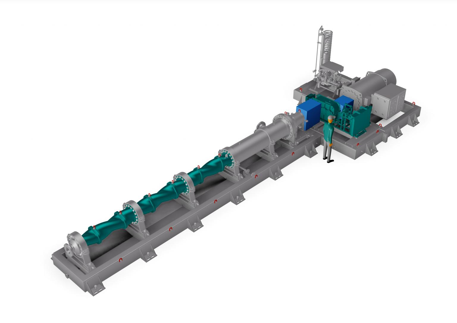 Netzsch has developed its range of L.Cap high- performance pumps for flowrates up to 1000m3/h and pressures up to 20 bar