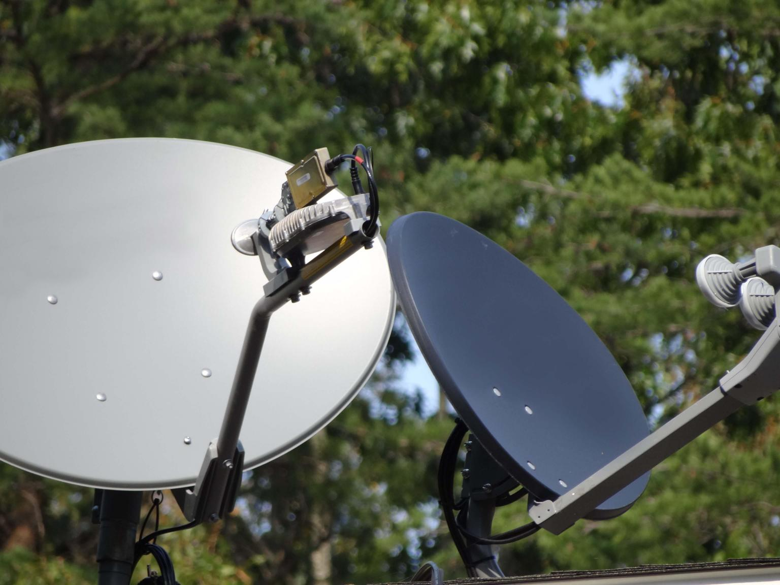 Today's enterprise satellites used for O&G network connections are mobile and can rest on a tripod if need be