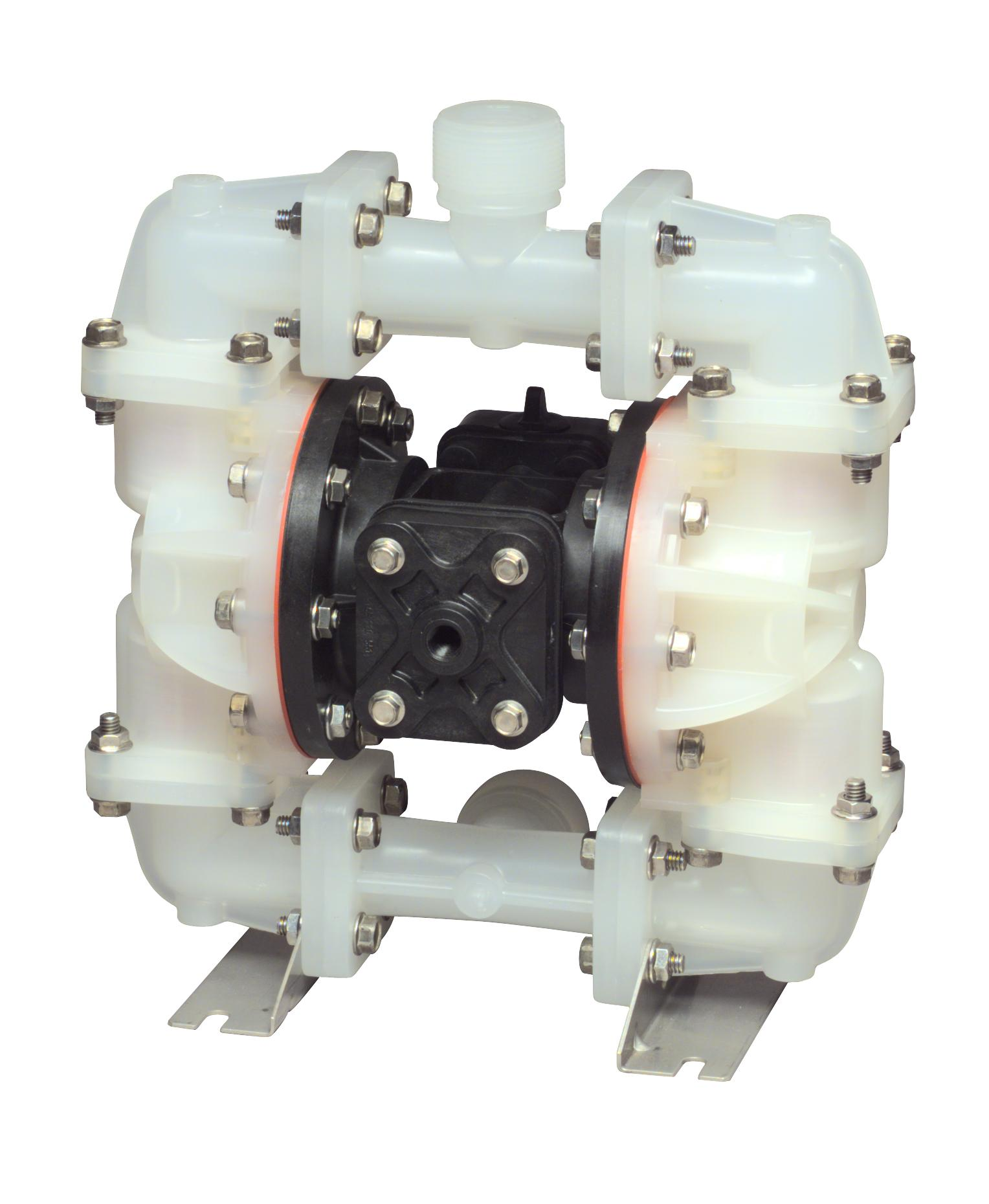 Non-metal-bodied AODD pump