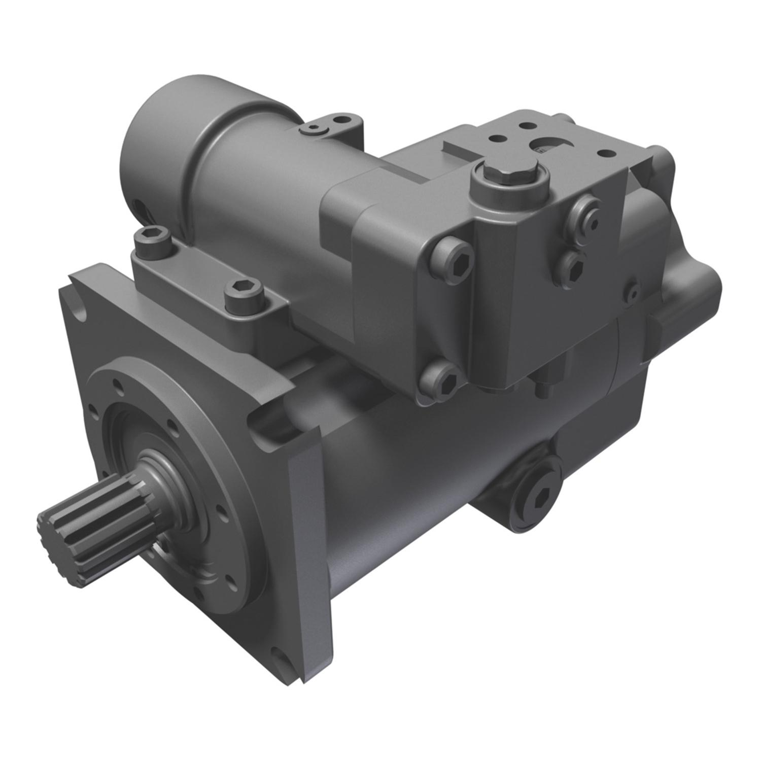 Oilgear's variable-displacement piston pumps are a cost-effective means of pumping environmentally-friendly fluid at high pressure