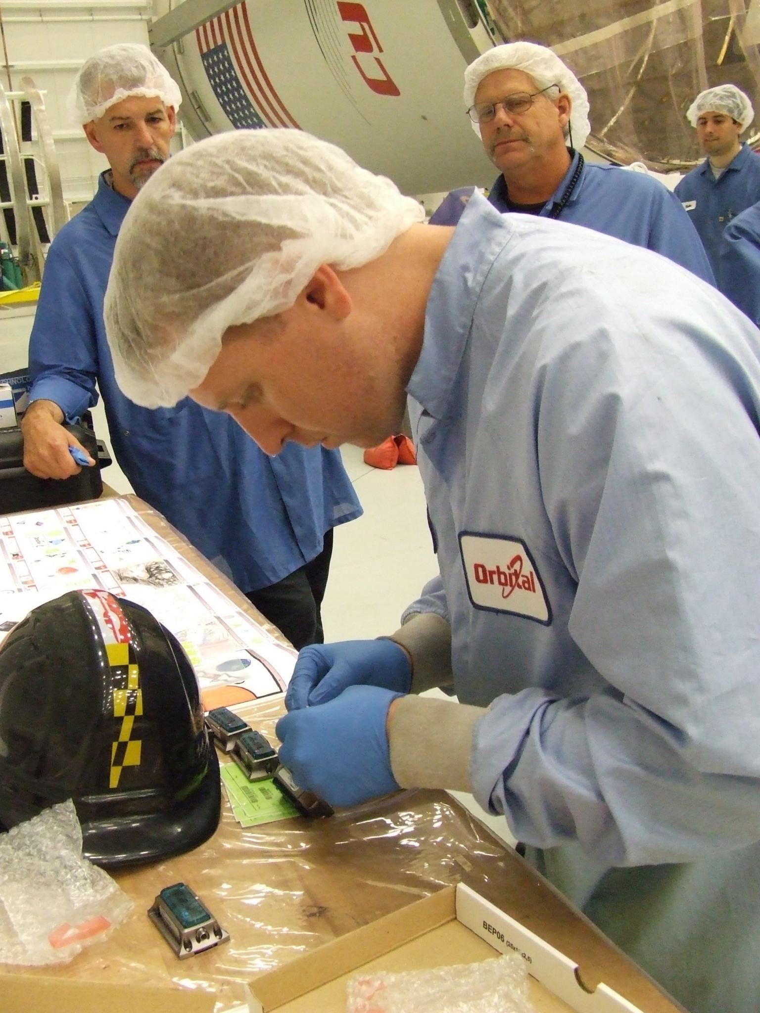Preparing Cygnus
