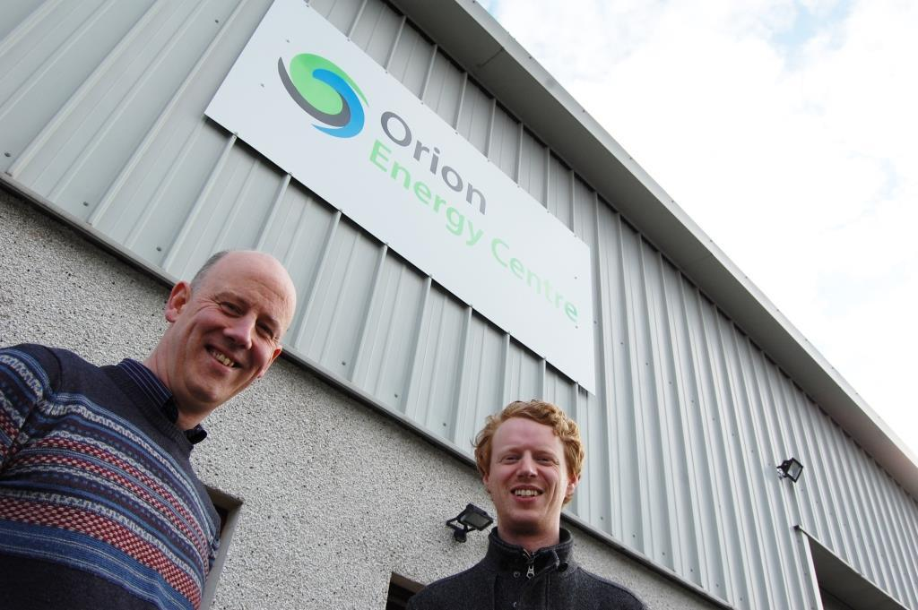Dr Ken Tease of Orion Energy Centre and Dr Darragh Clabby, Senior Engineer at RME