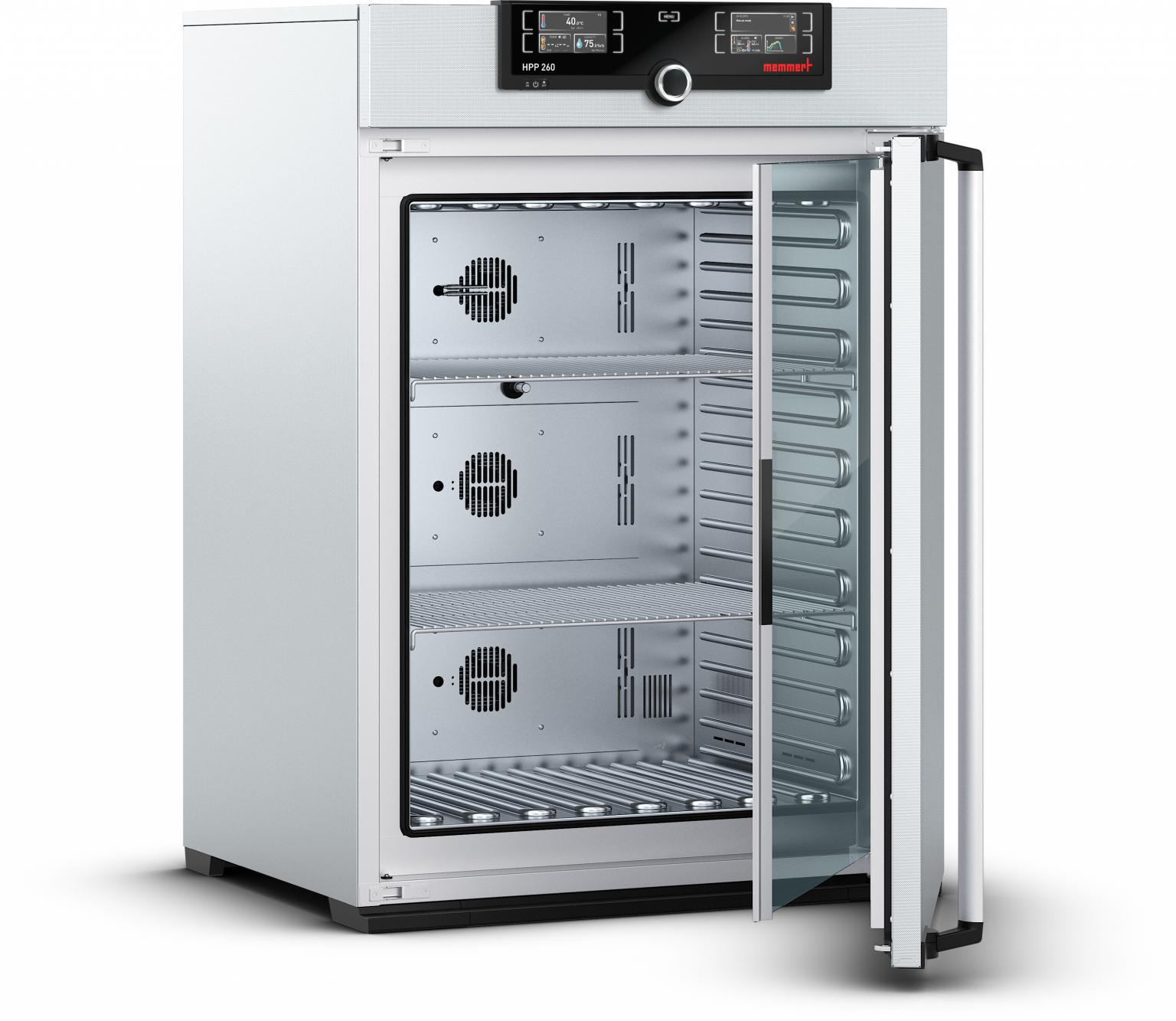 Memmert sought to improve the functionality and design of the handle and locking mechanism on its latest generation of laboratory oven