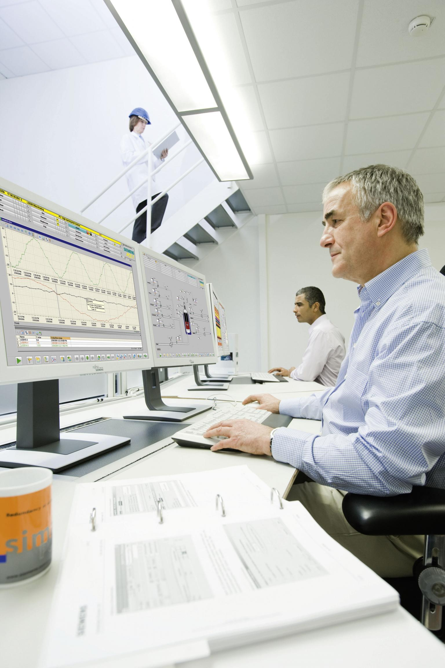 Siemens offers the Simatic process control system to help plants improve productivity