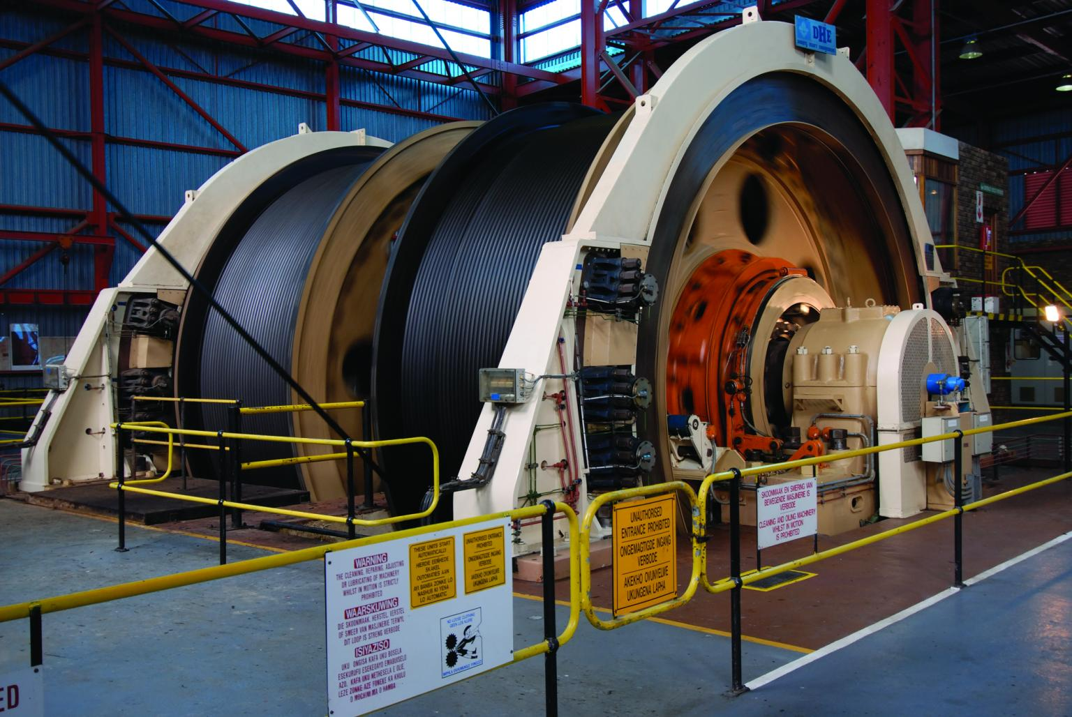 Altra Industrial Motion provides belted drives and couplings to the mining industry