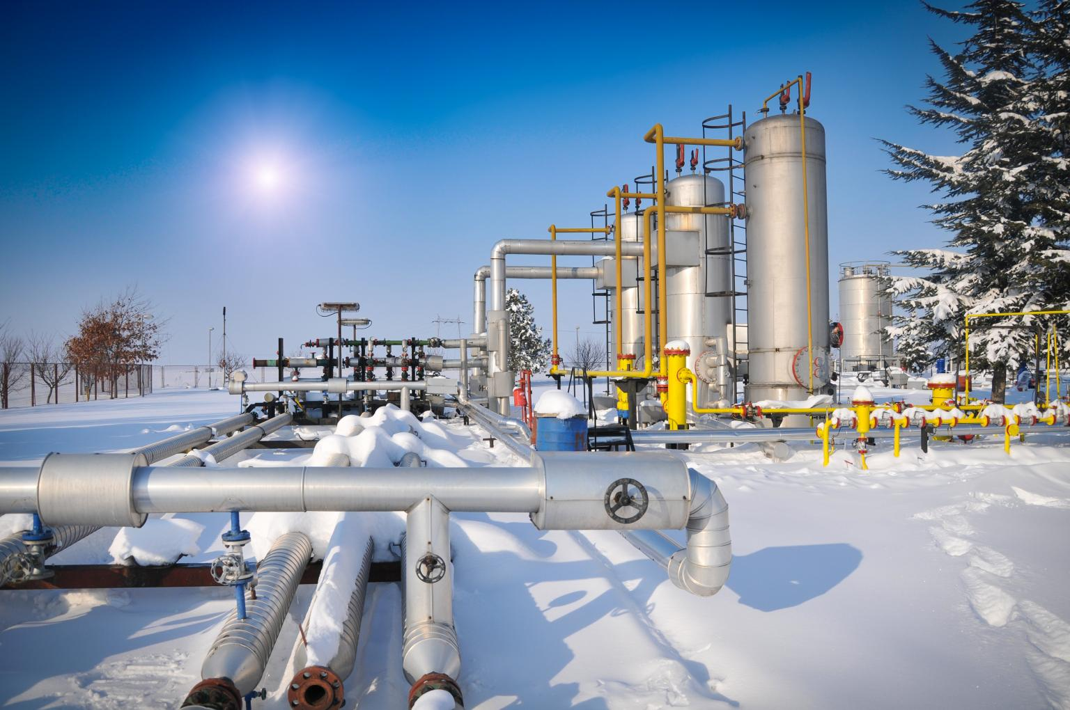 Gazprom operates and maintains a total length of 27,000 km of pipeline strings, along with 220 compressor shops and 1,168 gas pumping units