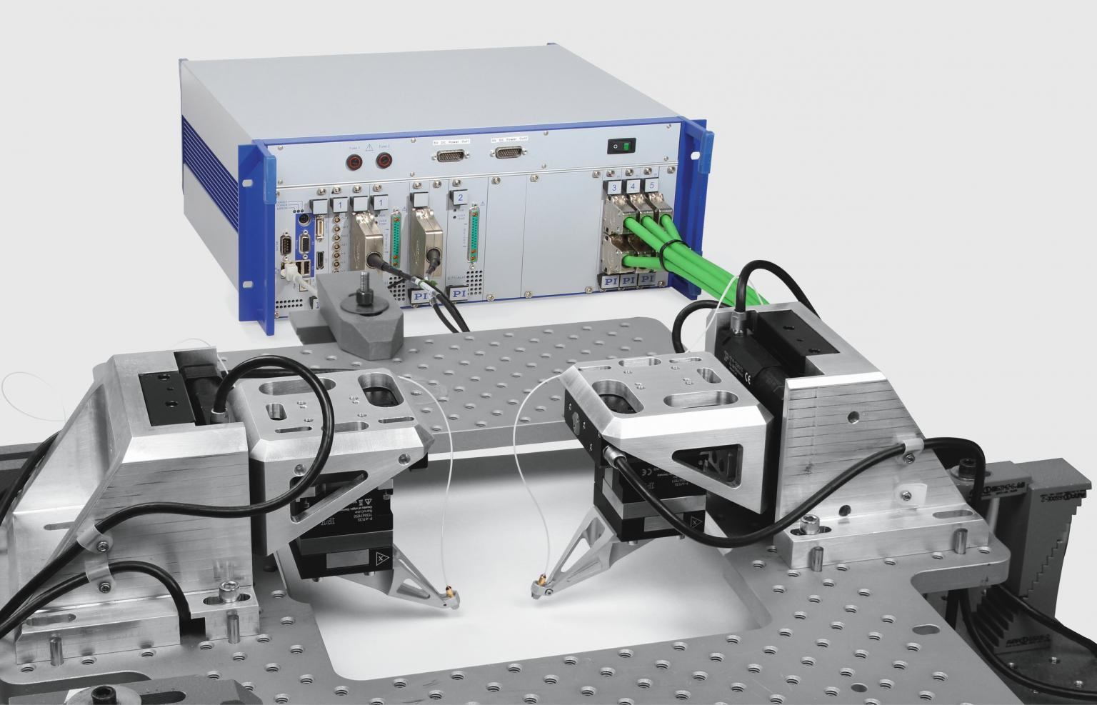 Industry-suited complete systems for wafer probing in silicon photonics