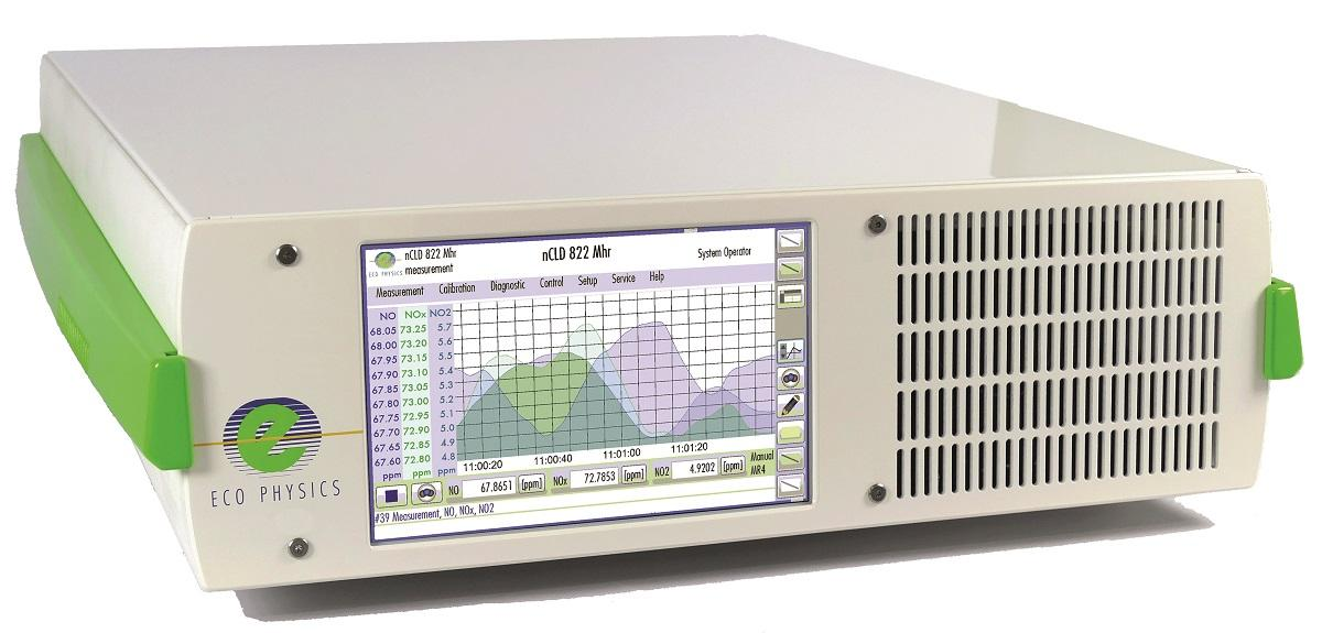 The nCLD-Series analysers detect NO, NO2 and NOx