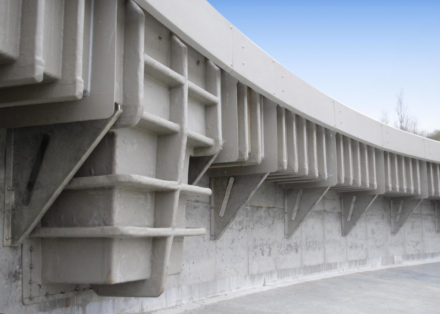 GRP is a versatile material that can be used in a wide range of installations, often as a direct replacement for more expensive traditional solutions