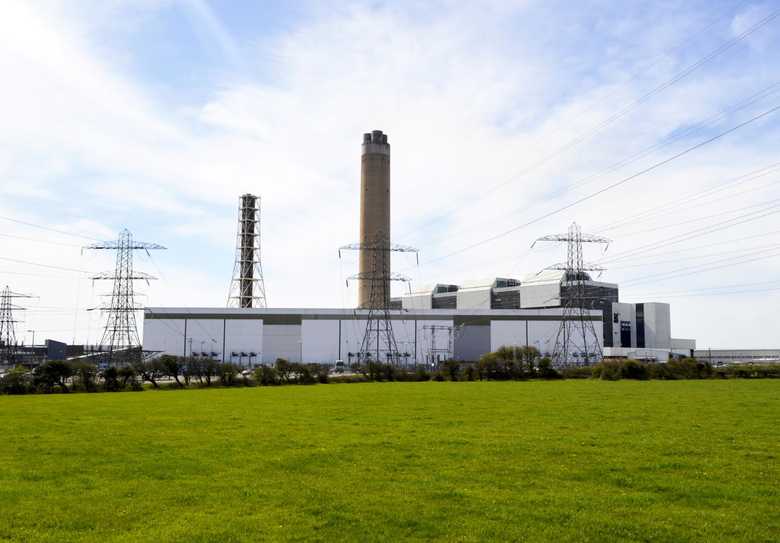 Aberthaw Power Station in South Wales