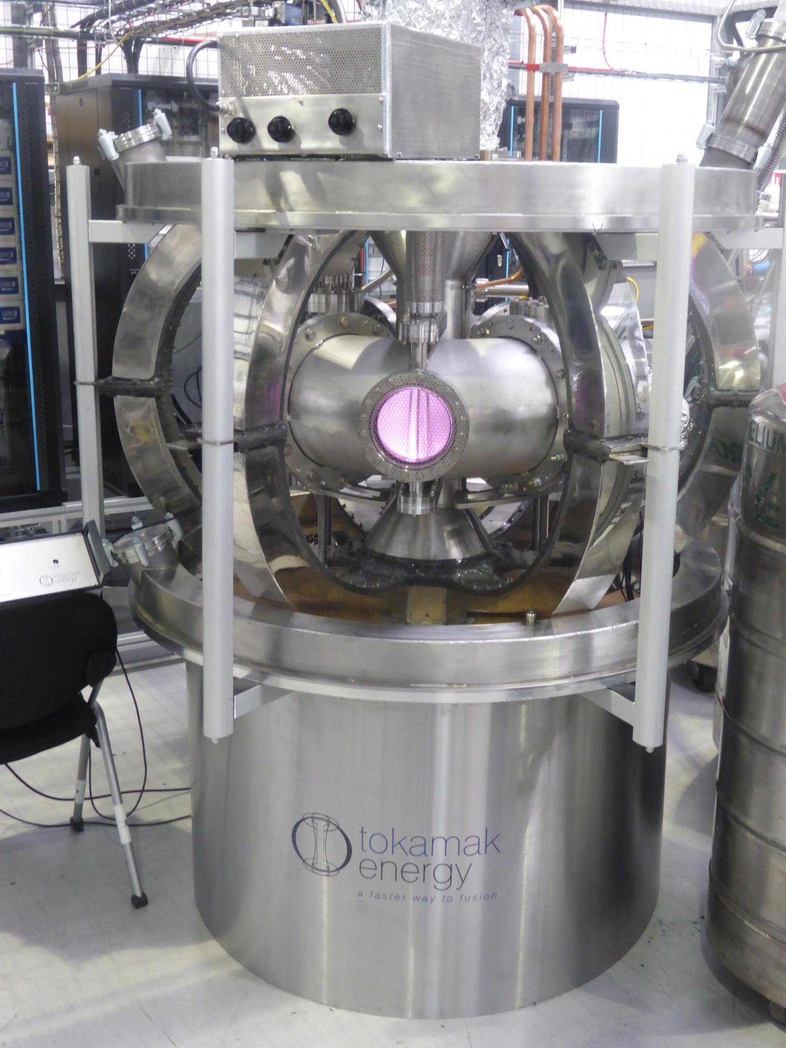 Hydrogen plasma in Tokamak Energy's HTS tokamak