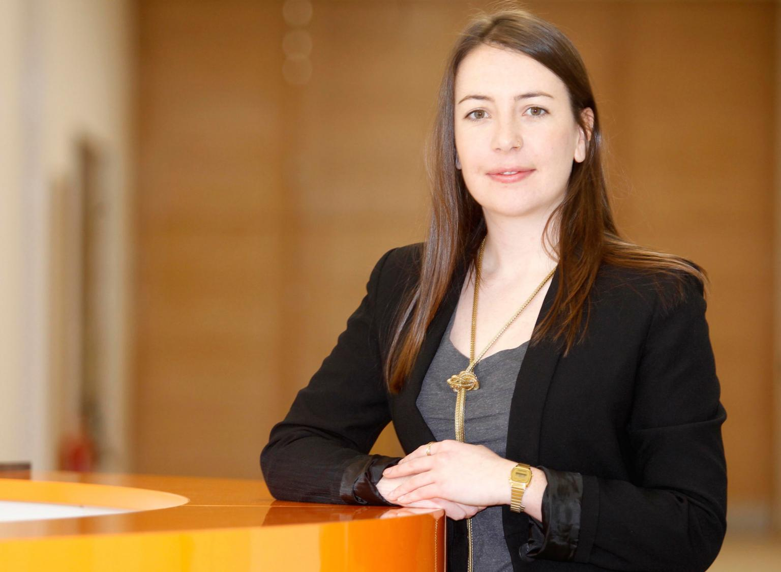Lucy Ackland is project manager at engineering company Renishaw and winner of the Women's Engineering Society Prize at the IET's 2014 Young Woman Engineer of the Year award