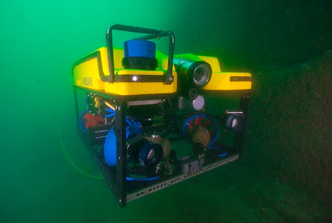 The Sub-Atlantic Mojave ROV will be patrolling the Welsh sea