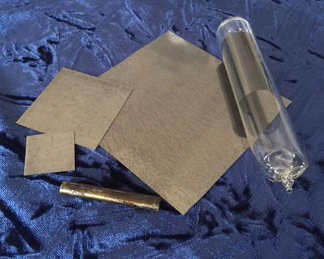 Goodfellow supplies a wide range of rare earth metal foils