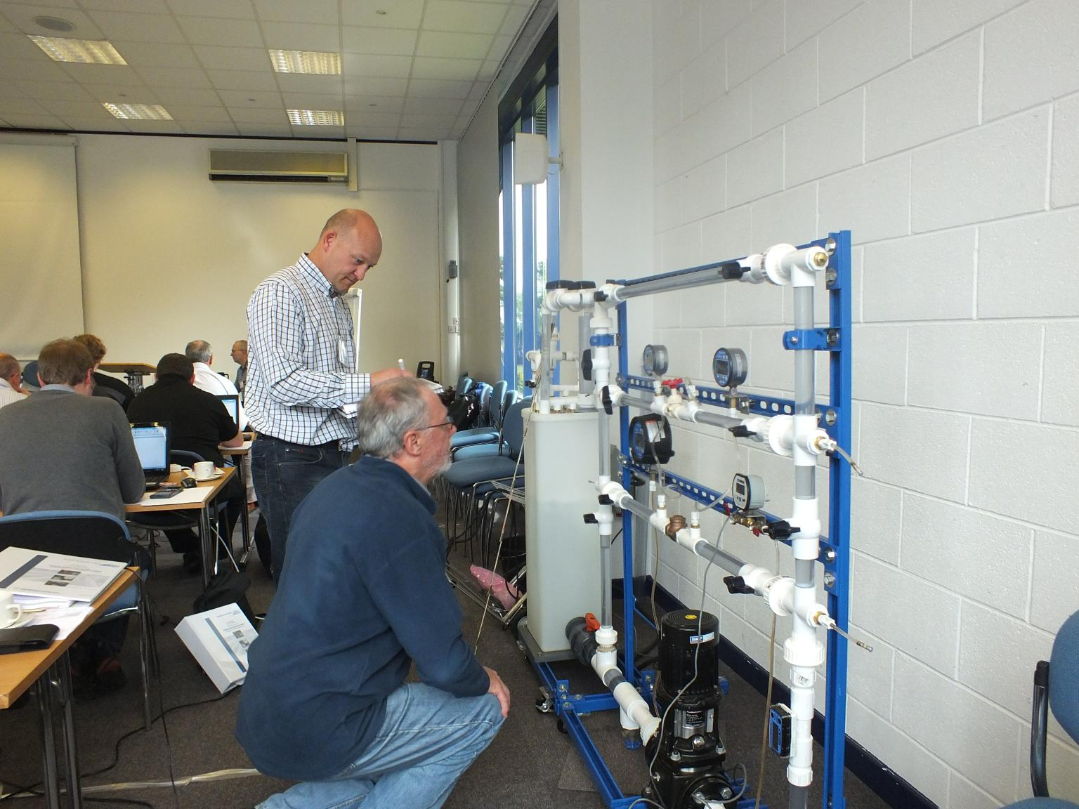 Pump engineers are being trained to correctly assess the efficiency of pump systems via the CPSA