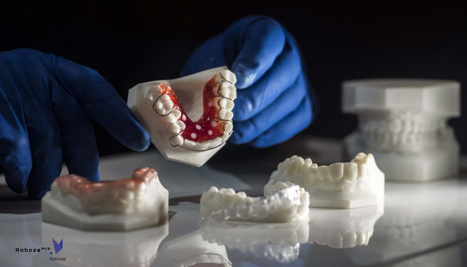 New orthodontic pieces can be used straight from the printer
