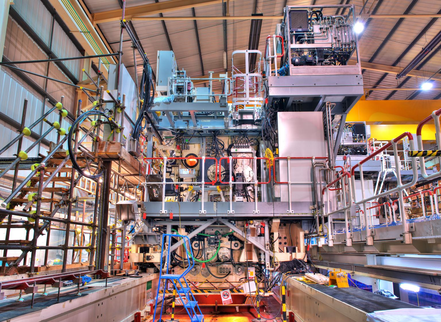 Ansaldo's mobile silo emptying plant (SEP)