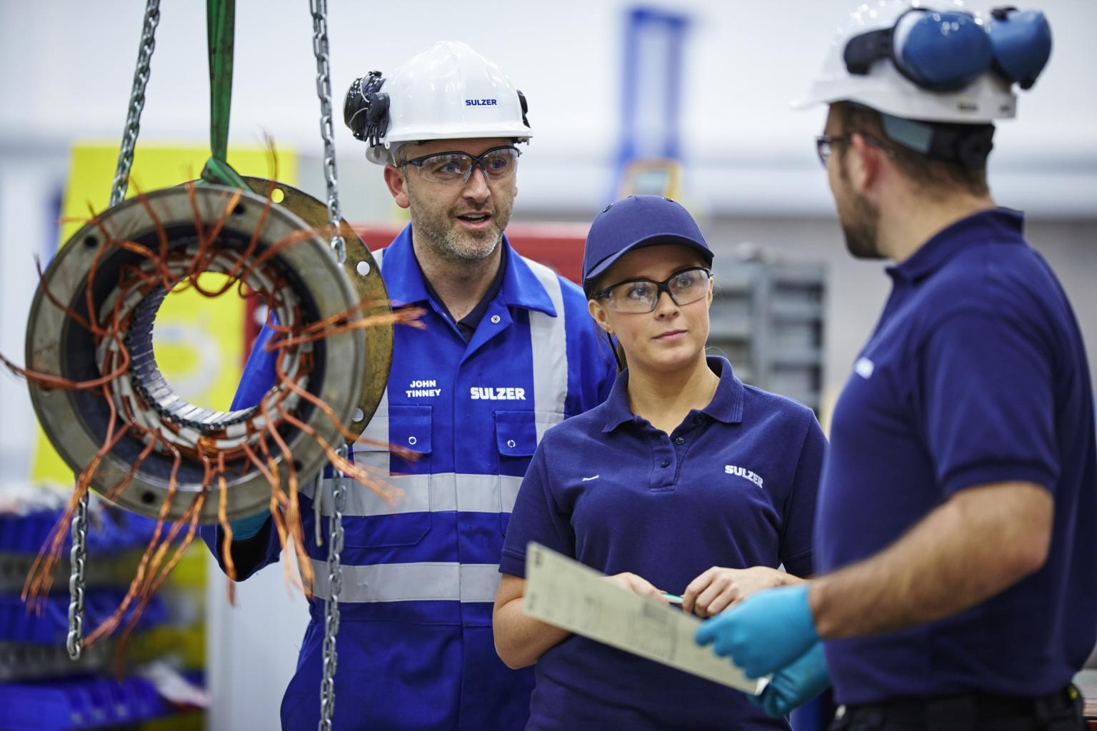 Sulzer is a global repairer and 24hr service provider with its own worldwide network of service centres