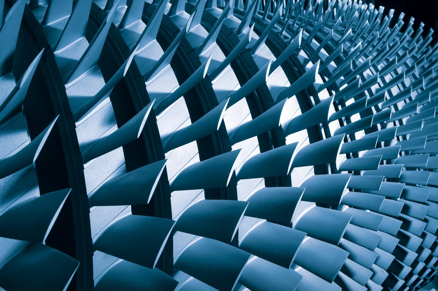 Protective coatings help to increase the efficiency and extend the service life of the gas turbine