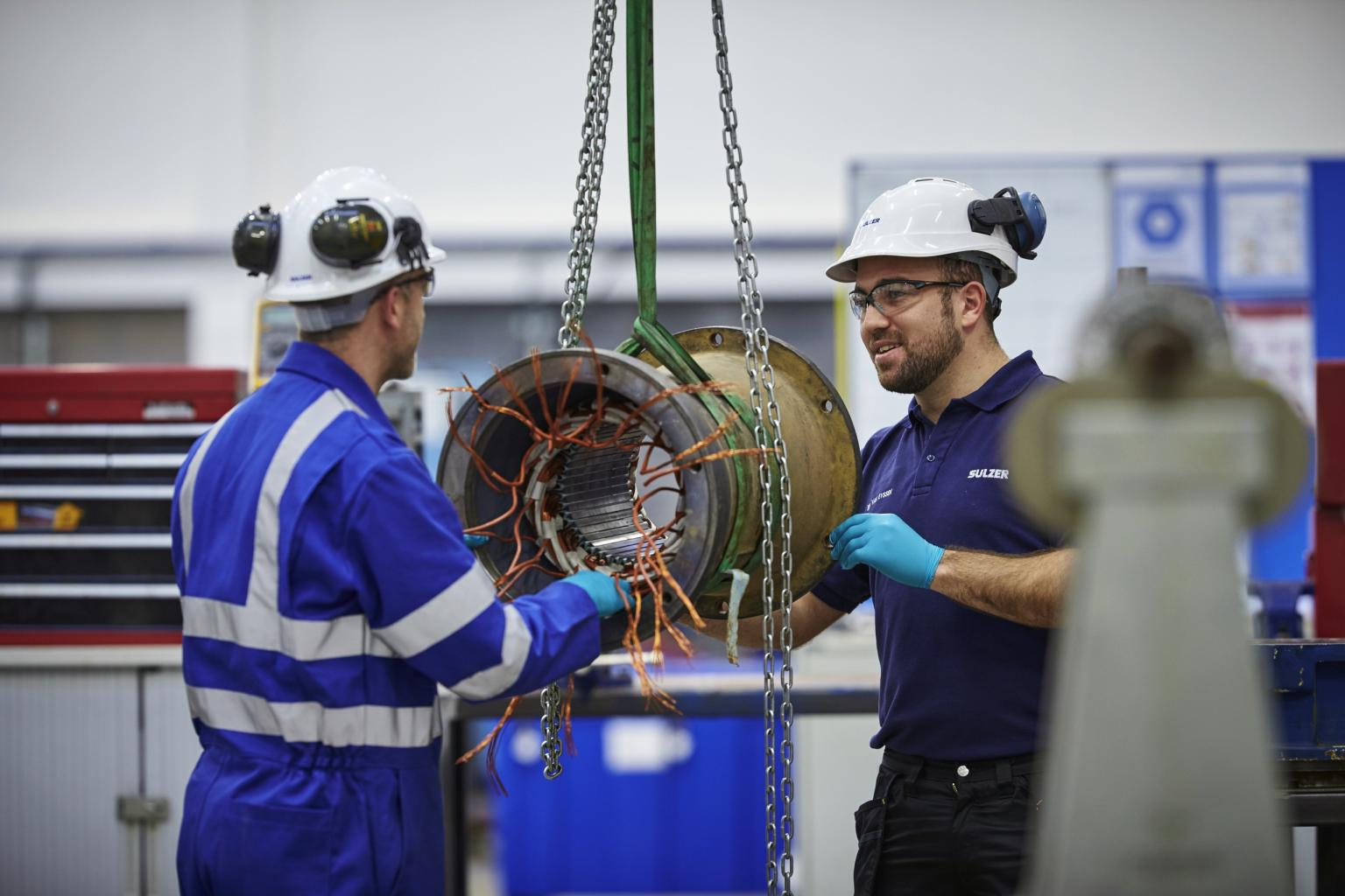 The global network of Sulzer engineers has considerable experience in maintaining and managing mature equipment by applying experience and the latest technological innovations. Image: Sulzer