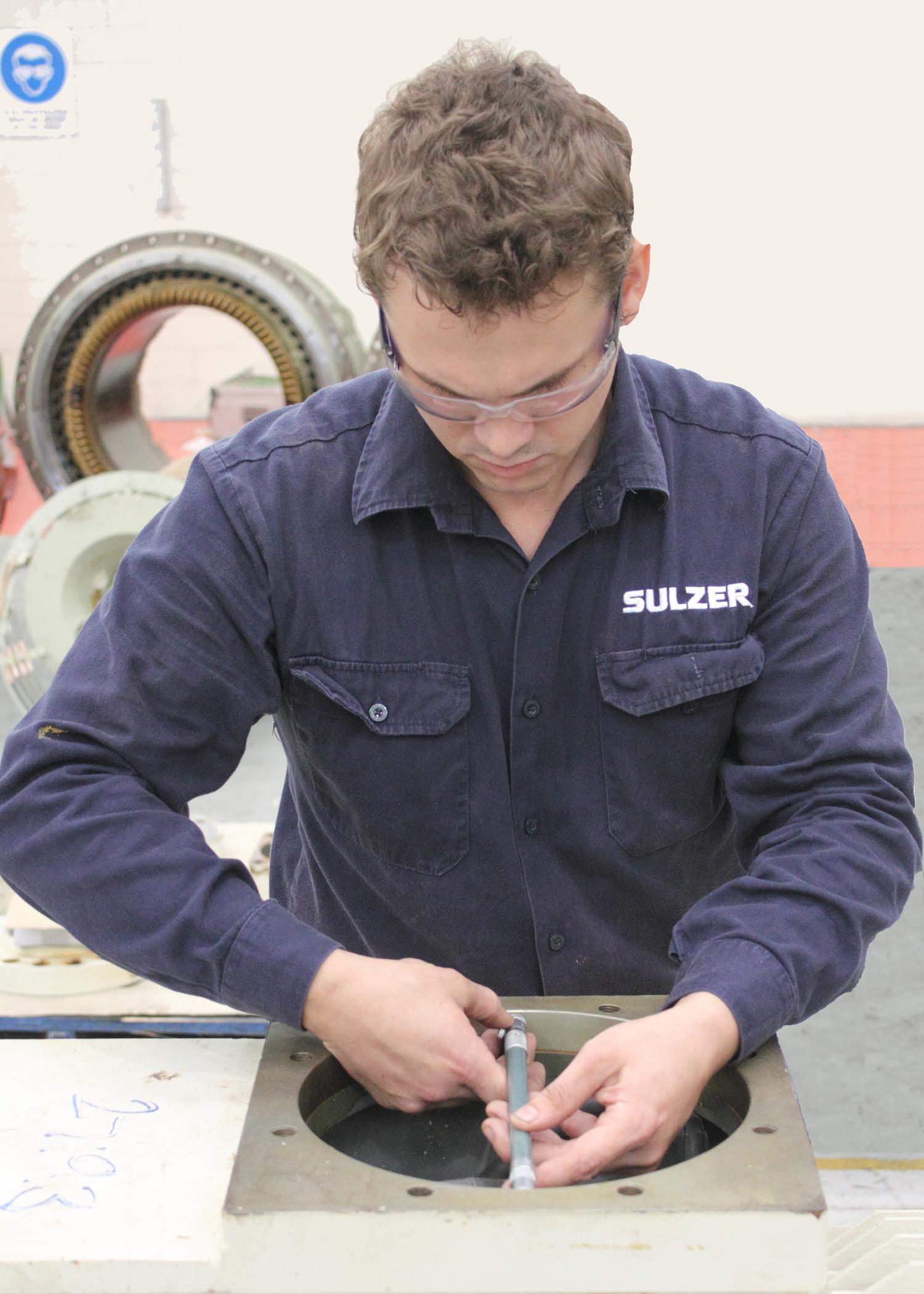 Offering a 24 hour, year round support service enables Sulzer to deliver expertise in the most time efficient manner, and to keep operations running with minimal delays