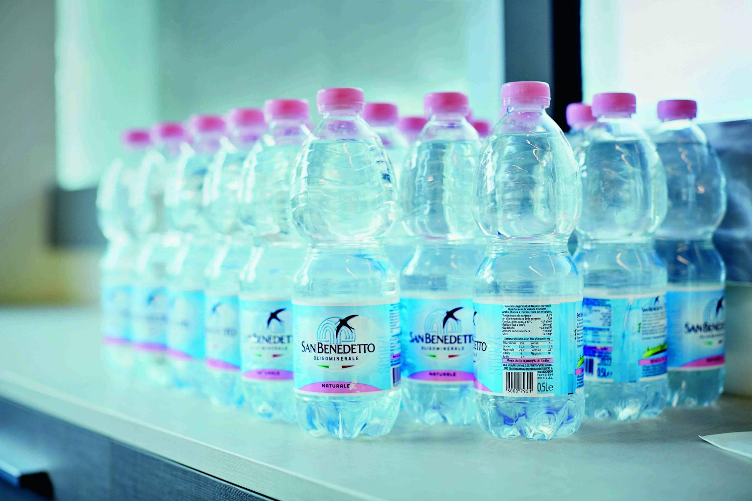 20 million bottles are filled each day using 44 systems across San Benedetto's 11 production facilities