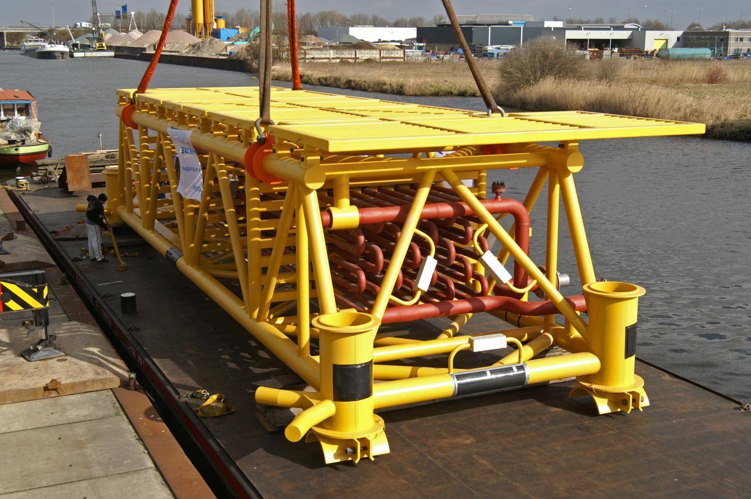 Bronswerk subsea cooler