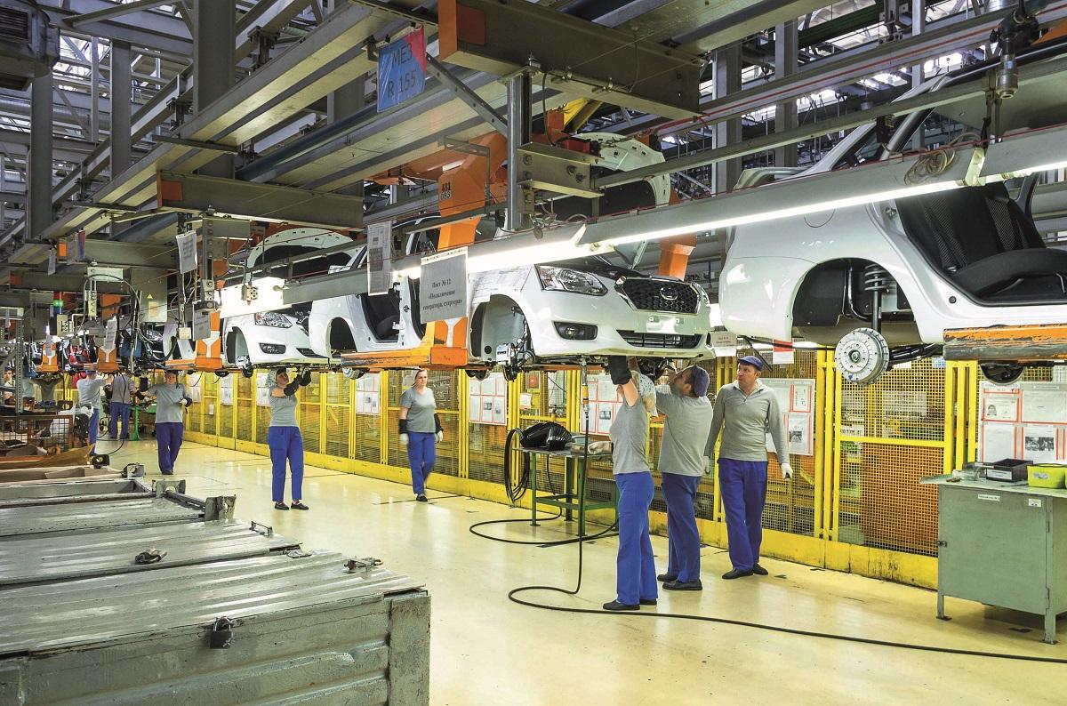 Production lines are rapidly changing