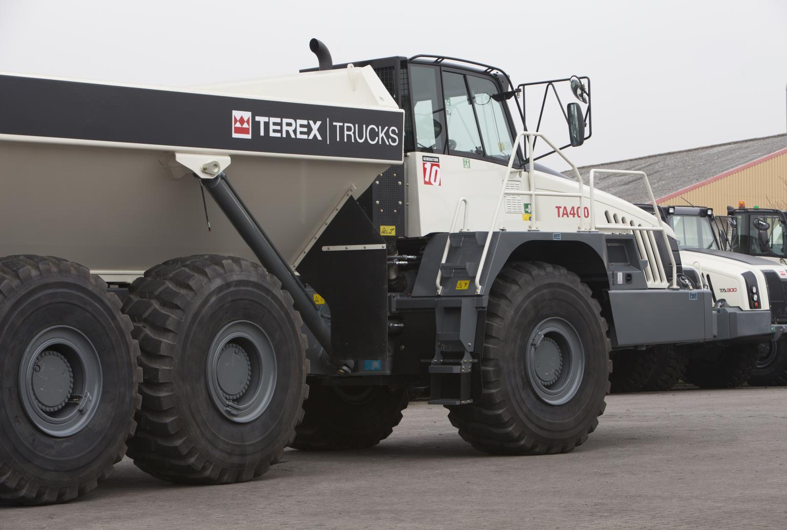 Longer warranties demonstrate the durability of Terex's range of parts