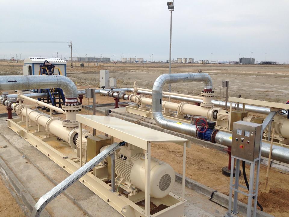 Netzsch pumps in situ at the Tatarstan oilfield in Russia