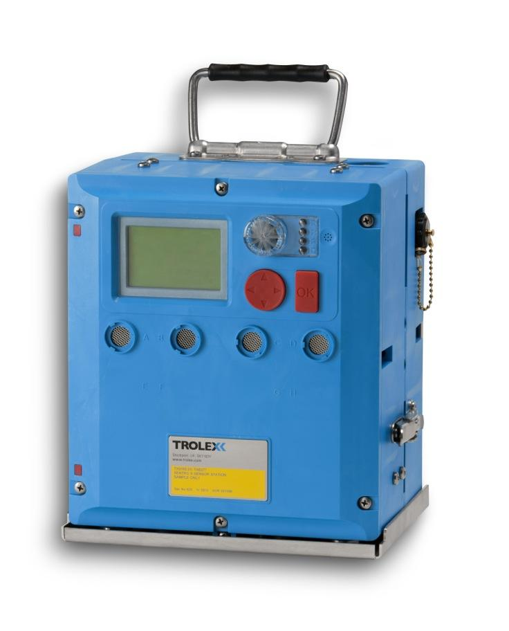 The Trolex Sentry multi-gas being introduced for applications such as refuge chambers