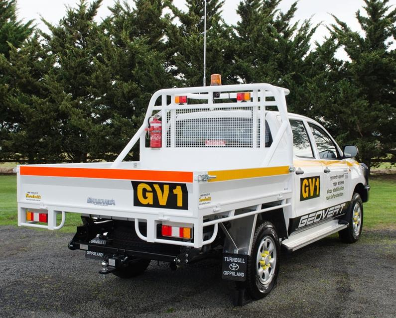 For economy and practicality customers often specify modifications of standard trucks. This dual-cab Toyota Hilux was modified by Turnbulls Australia for the Newmont Boddington gold mine in Western Australia