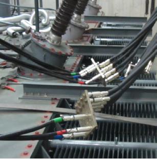 Terminals make it possible to quickly and simply connect testing systems
