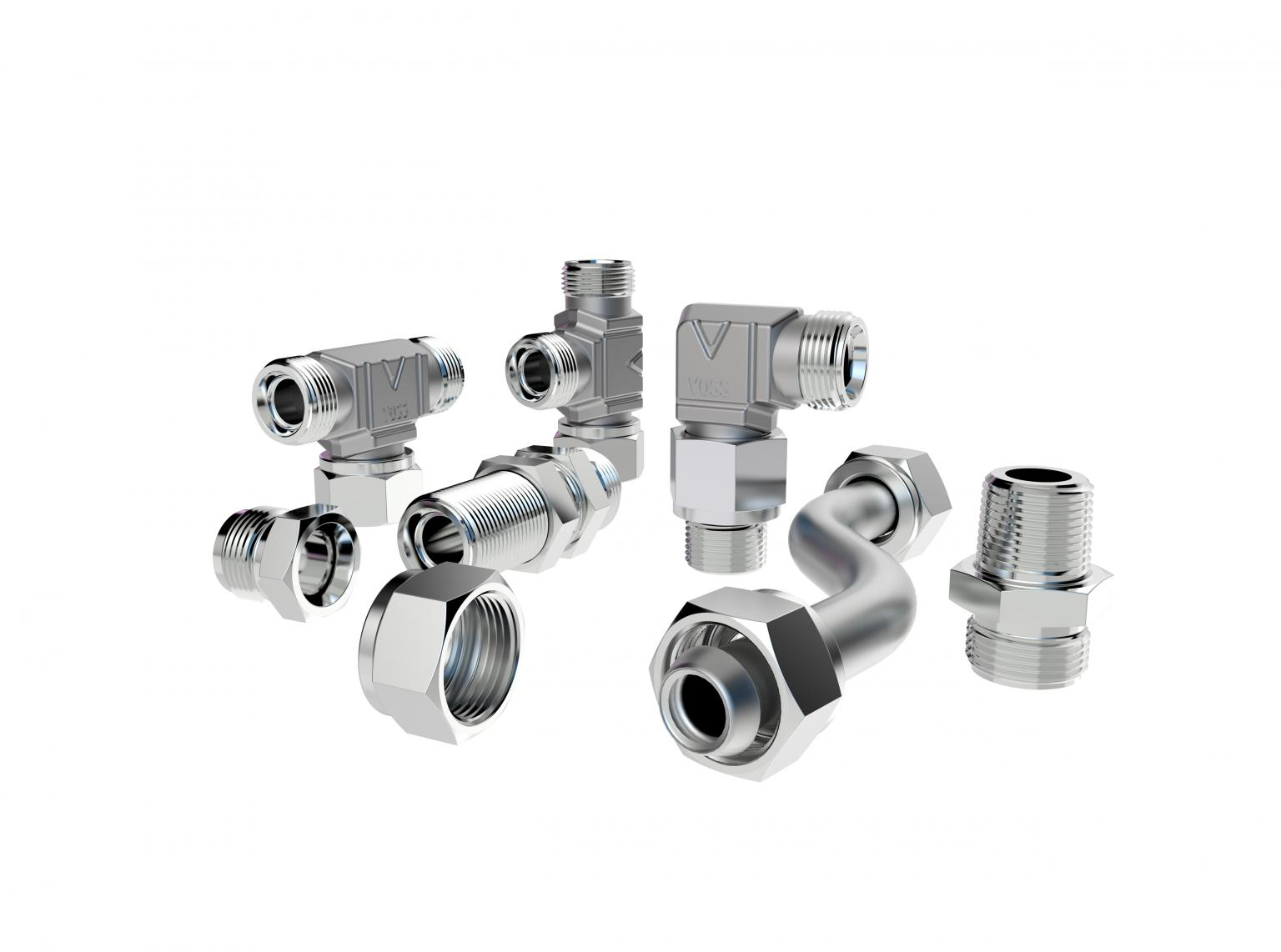 The new tube coupling system VOSSLok40 from VOSS Fluid is a high-quality alternative to ferrule fitting and is suitable for various applications and sectors