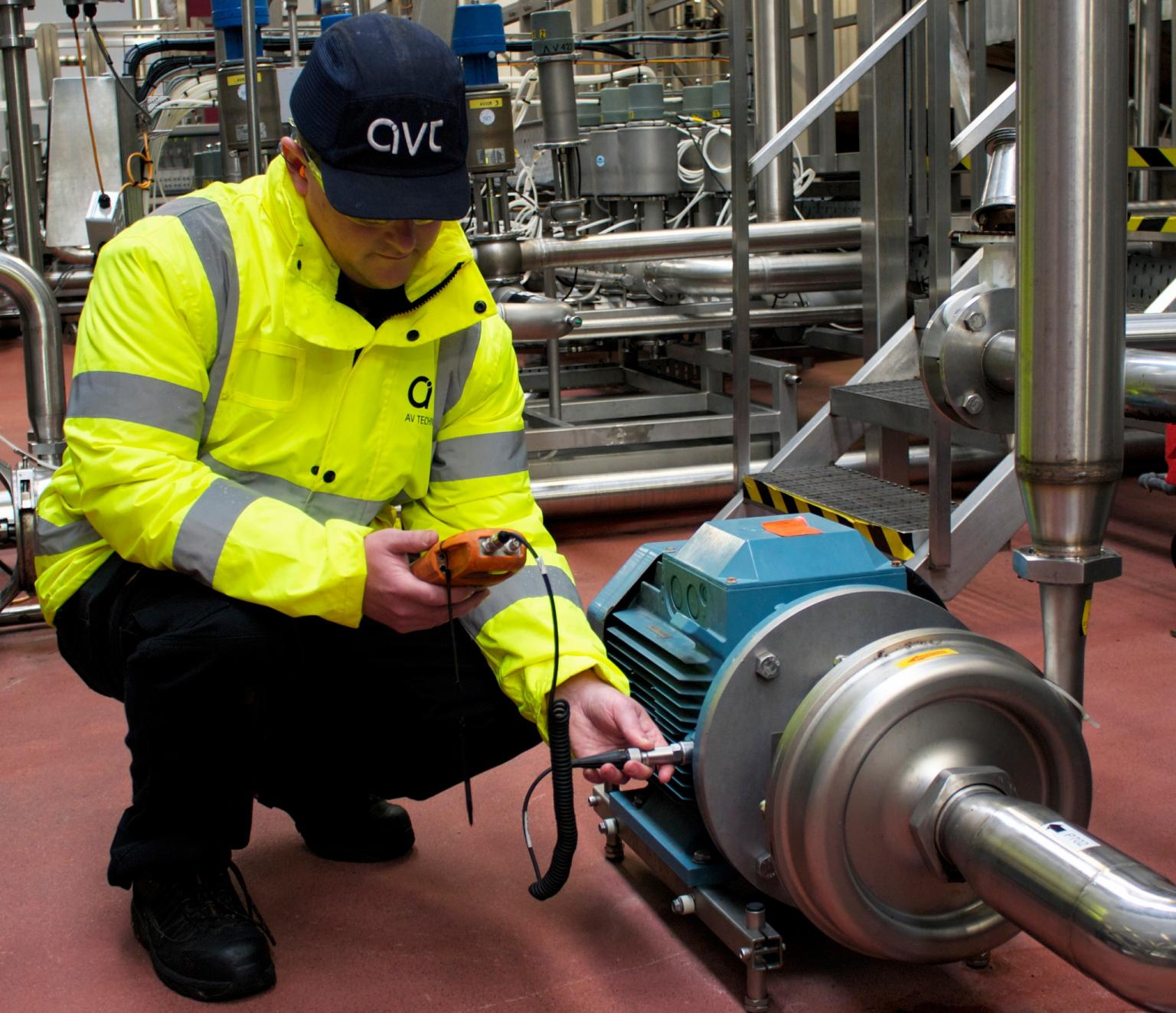 Vibration measurements: thorough inspection must be undertaken before determining the corrective action