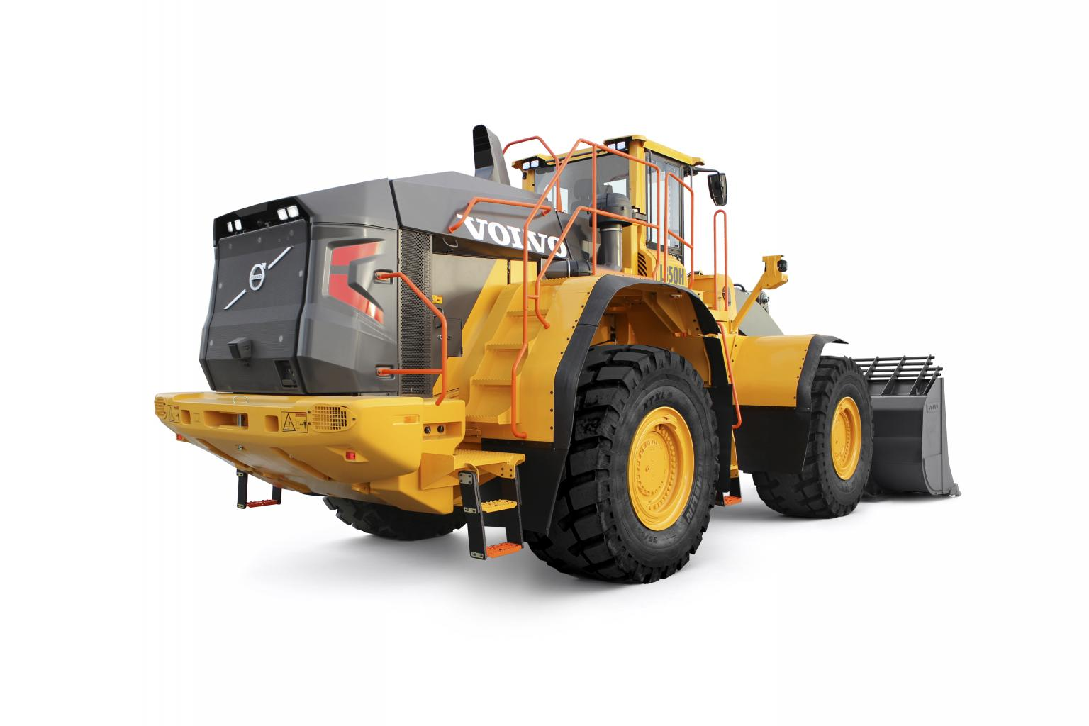 The L350H is Volvo's largest wheel loader