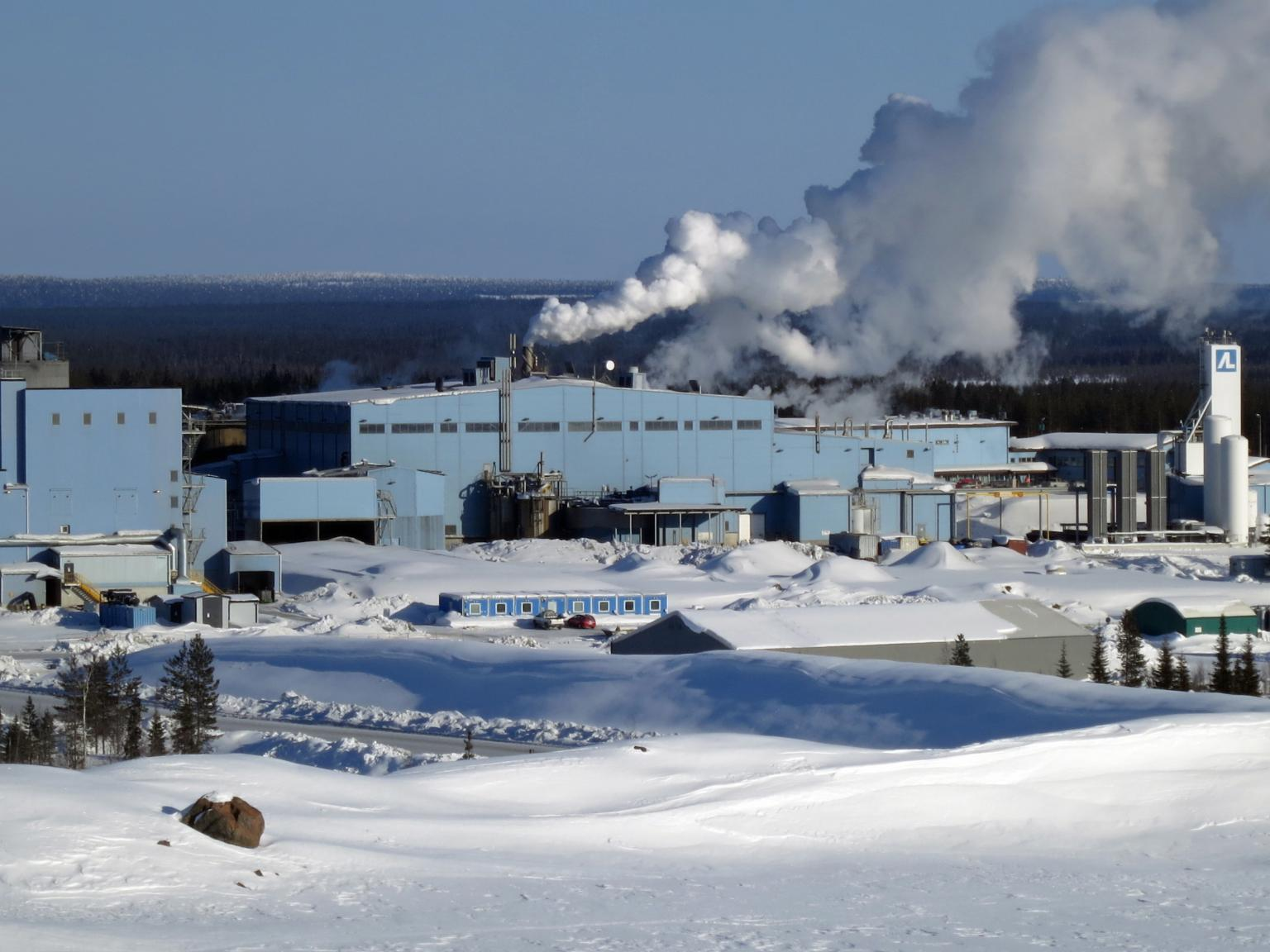 Agnico Eagle's gold mine in Finland is 150km inside the Arctic circle near the town of Kittila