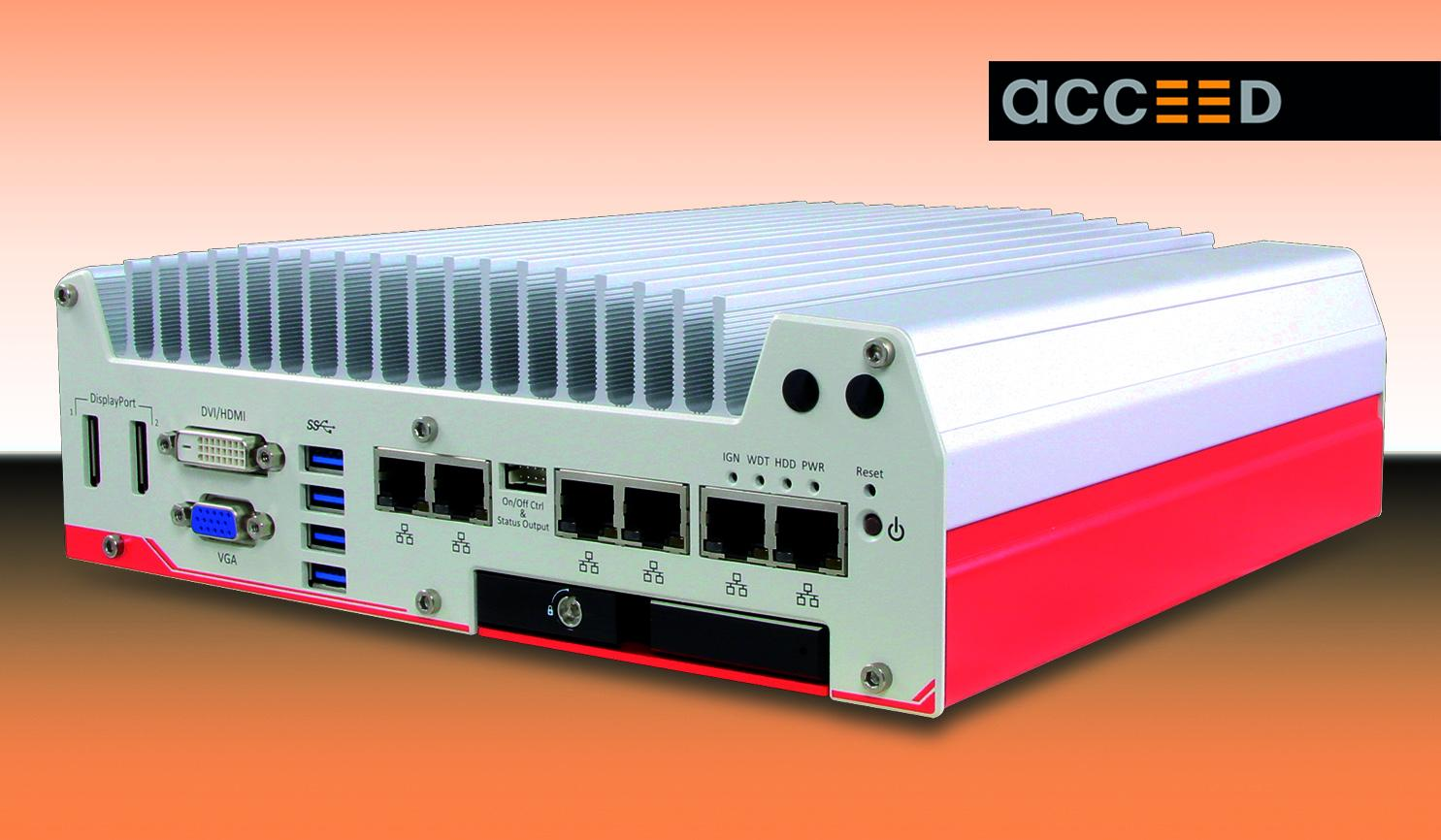 The new, flat Nuvo-5000LP from Acceed