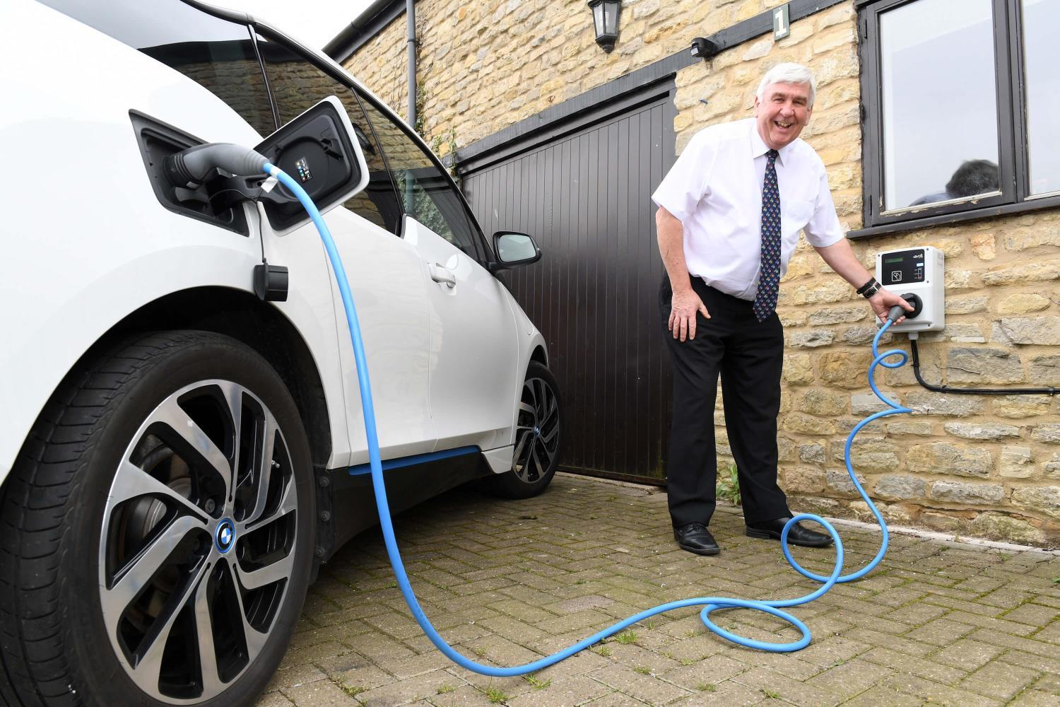 Electric vehicle owners in Milton Keynes benefit from free smart chargers (provided by the Electric Nation project)