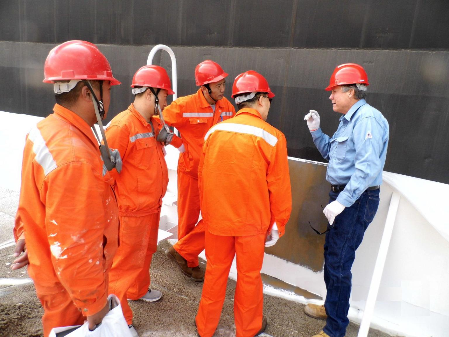 Ningbo Xingang Fuel Storage Company consulted with EonCoat regarding the use of the smart coating at its oil terminal