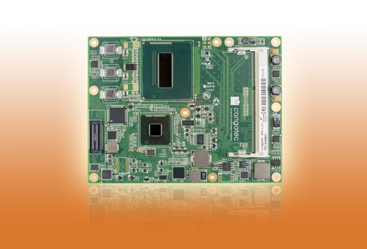 The conatec TS87 Haswell COM module
