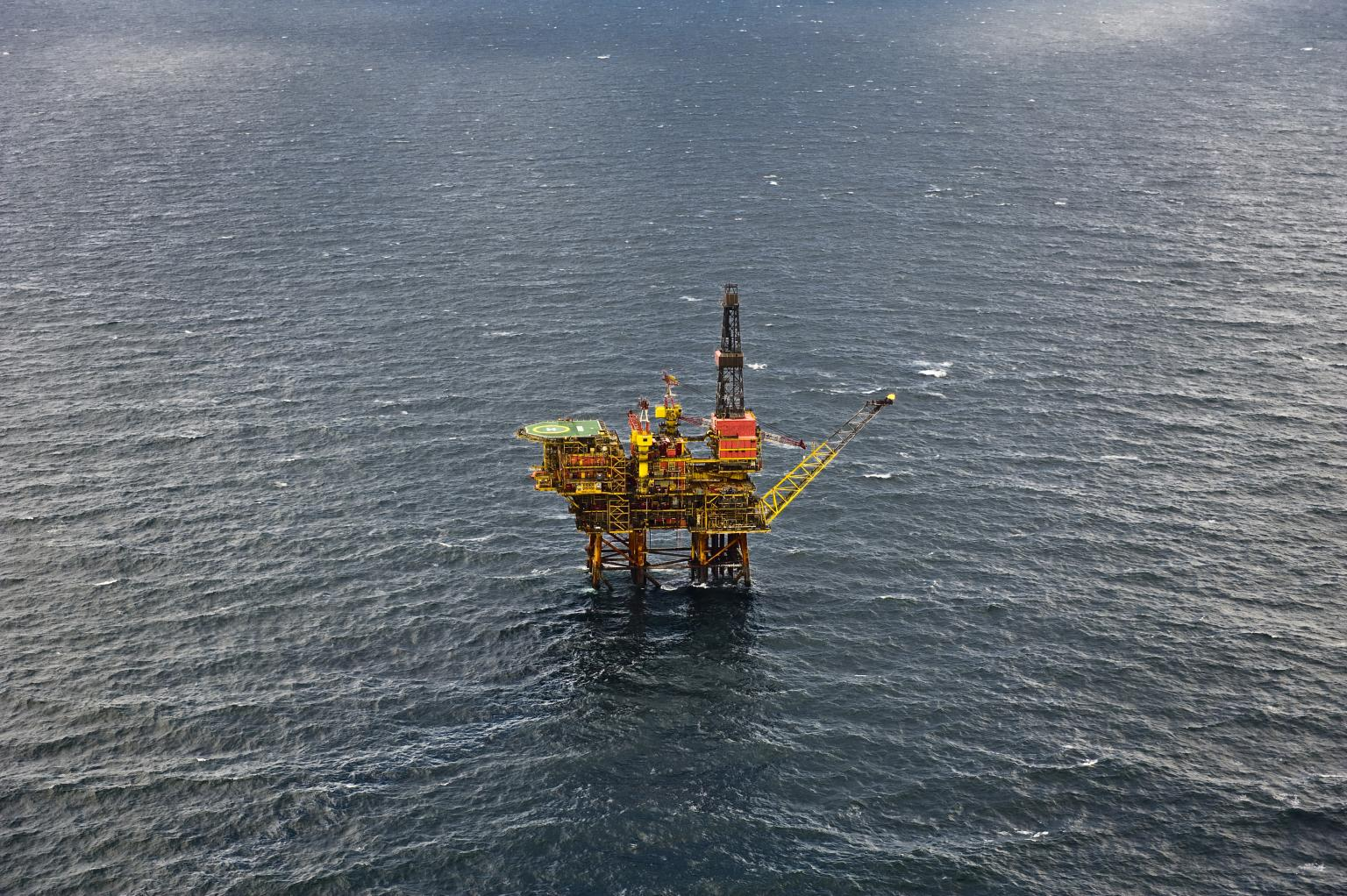 TAQA UK's Eider rig is among a number undergoing structural inspections by the new ROV