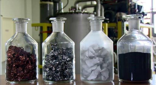 Recycled electric car batteries