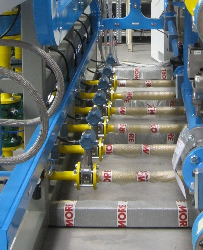 The flowmeters are being used to more accurately measure and optimise oxygen used in the steel making processes