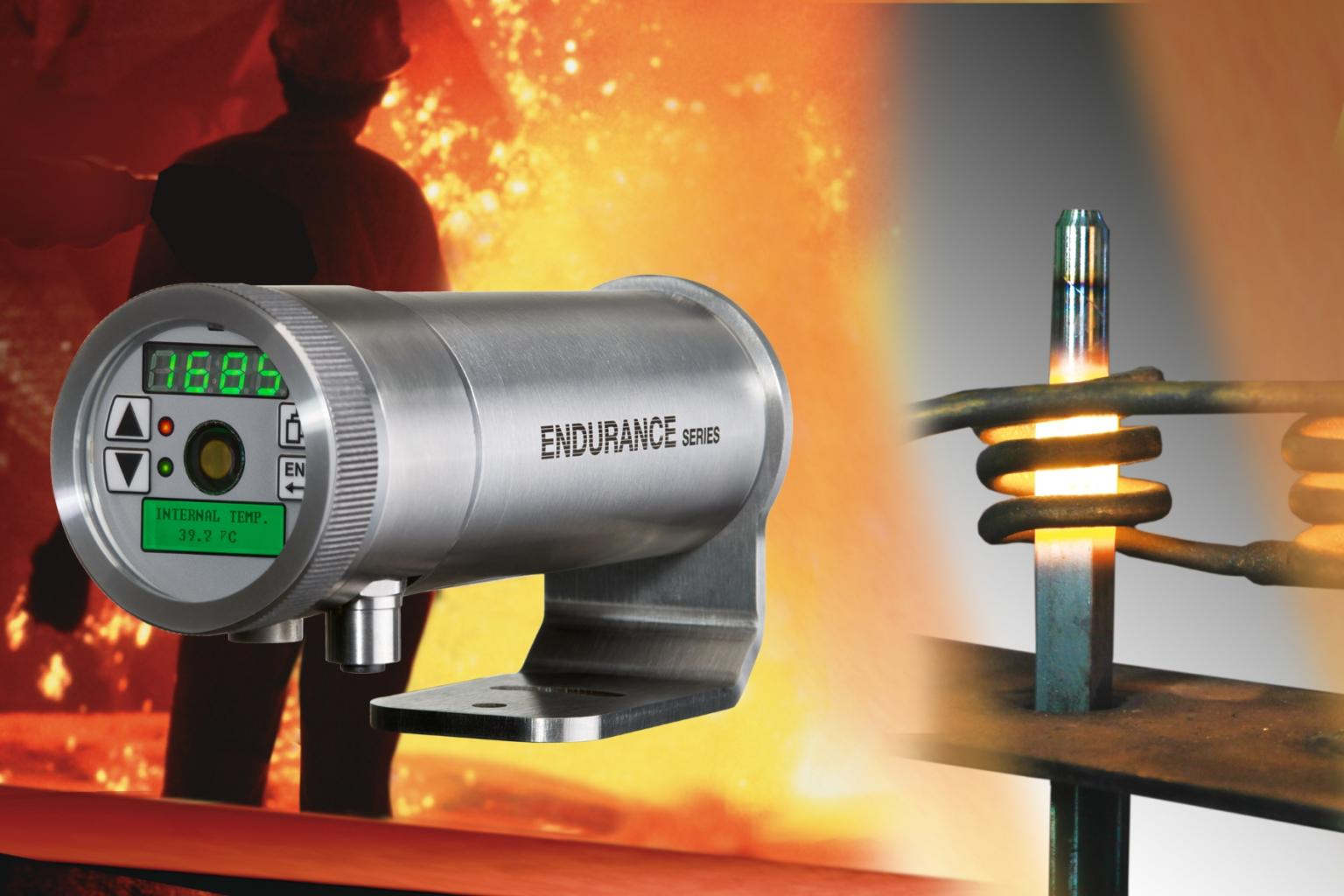 The rugged new infrared thermometers ensure high precision and flexible integration in all kinds of process monitoring set-ups